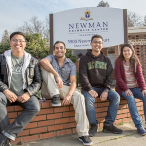 Giving to the Newman Centers and College Ministry