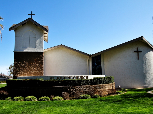 Elk Grove, St Joseph Church