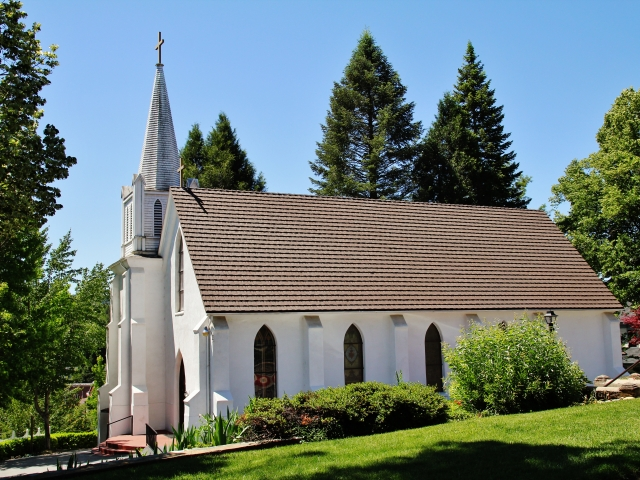 Nevada City, St Canice Mission Church