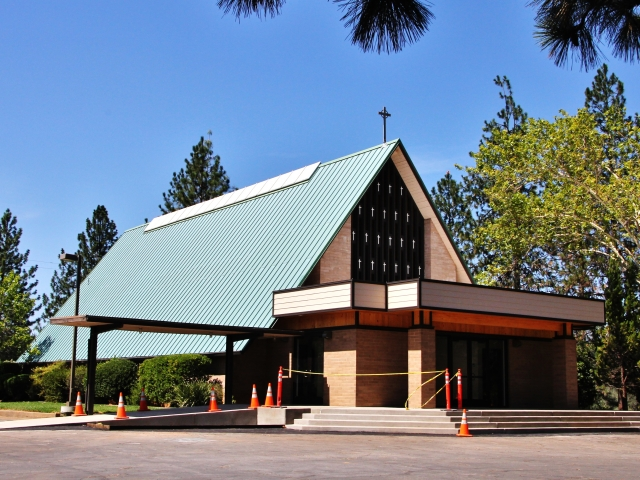 Shasta Lake, St Michael Mission Church