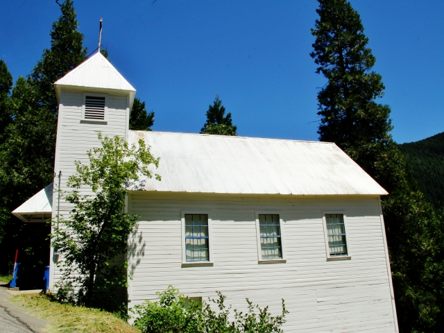 Sierra City, St Thomas Mission Church